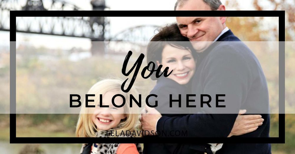 Working Mom Life You Belong Here, Lela Davidson
