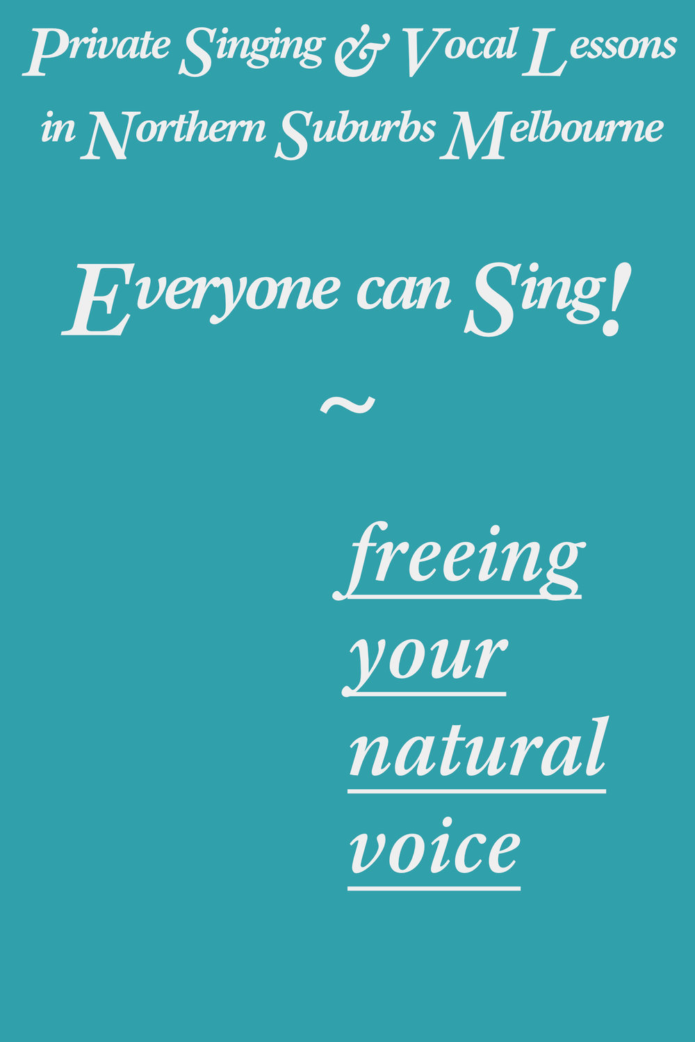 Book Now - Private Singing & Vocal Lessons