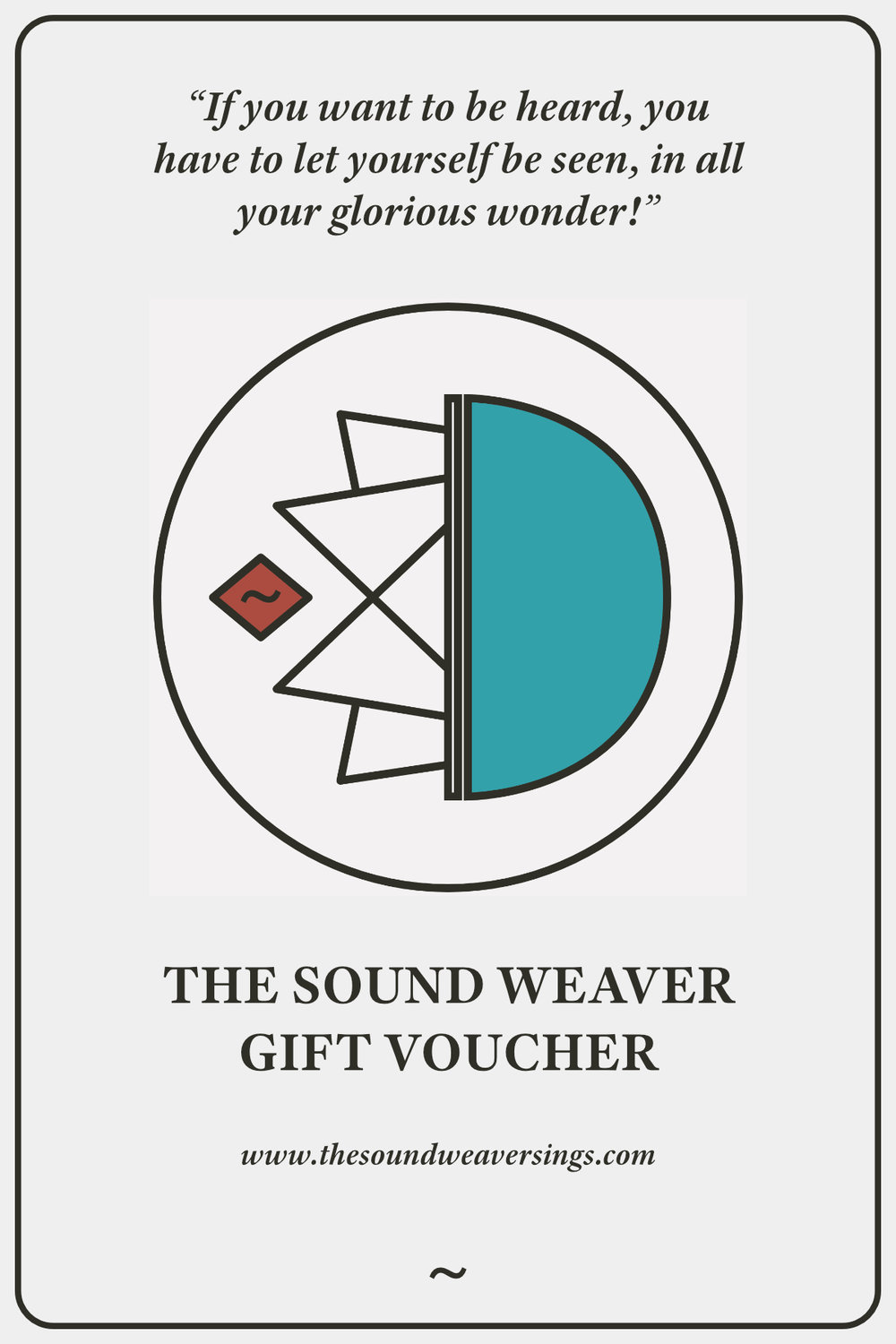 Buy Now - Sound Weaving Gift Voucher