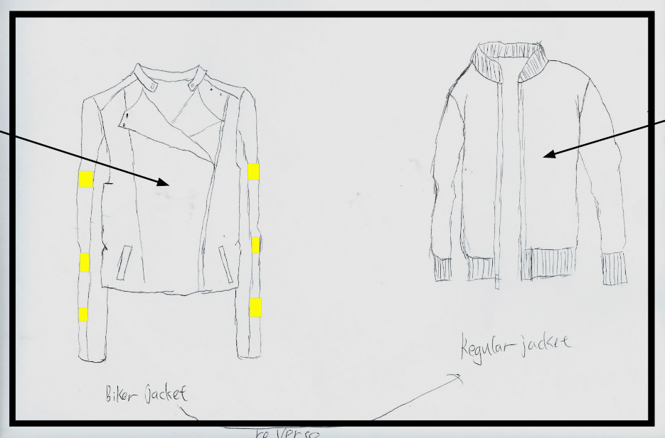 Transformable Clothing for Bikers