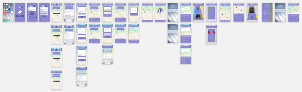 Interaction Design - We then used Flinto to bring the app to life, allowing for touch-based interactions on mobile devices.