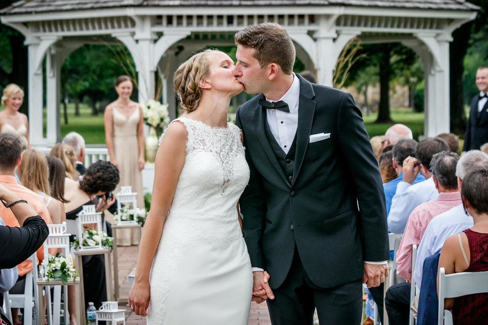 Hannah and Ryan hosted a classy affair at   Smith Park   in Menasha, WI with a reception at   The Ballroom at the Reserve   in Downtown Neenah, WI.