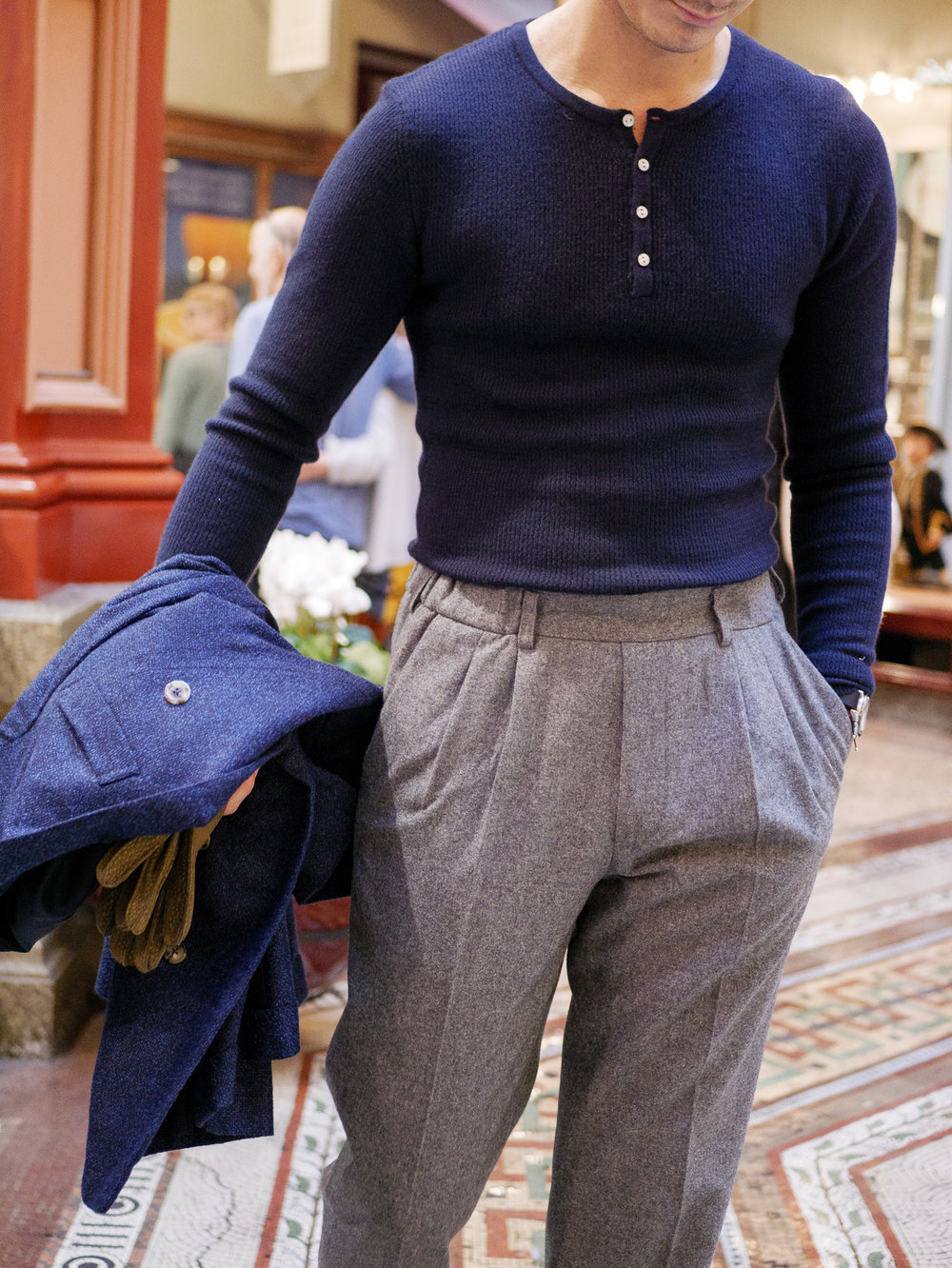 Robinson Man Henley, Chad Prom Trousers