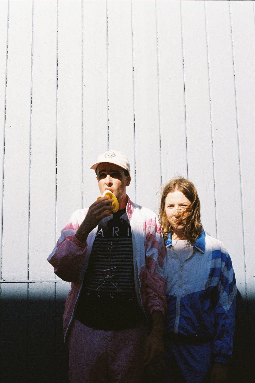 Matthew and business partner Rachael