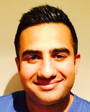 Dr Sahota, image courtesy of New Ash Green Dental Care.