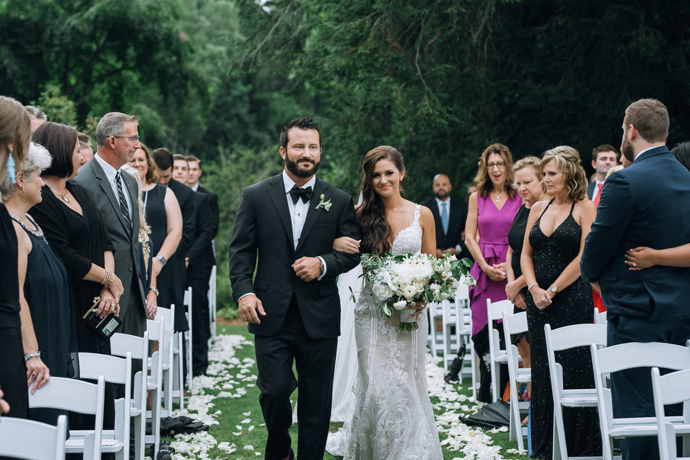 Walking Down Aisle With Dad