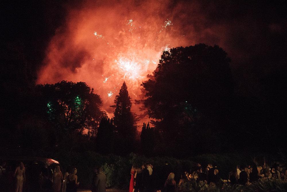 Firework Sendoff