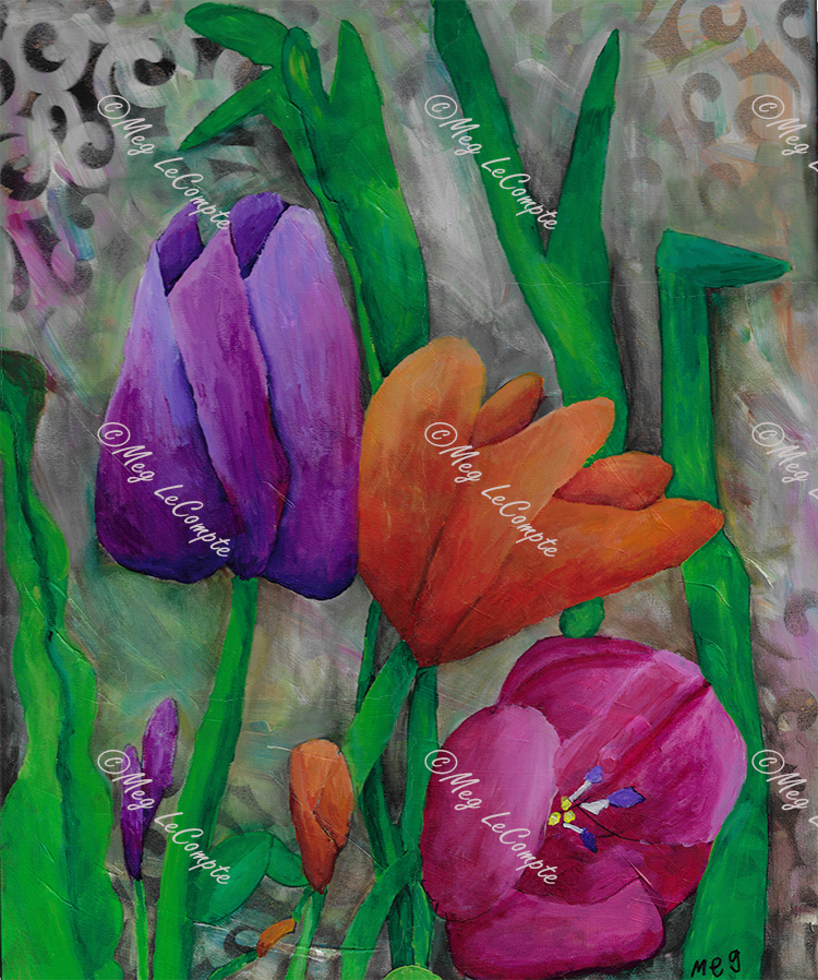 The Stems and the Tulips