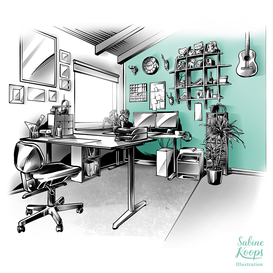 Sabine_Koops_Illustration_Illustrator_Raum_Buero_buro_interior_work_workspace_Arbeitszimmer_Moebel_furniture_2018.jpg
