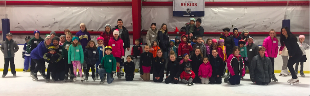 We had such a great turn out and everyone enjoyed a fun-filled skating day!