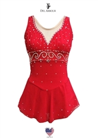 Founded by Del Arbour in 1973, the company has grown to serve and bring shine to the ice around the world. Creating costumes for Olympic Champs, World Synchro Champs and many amazing talented skaters. -