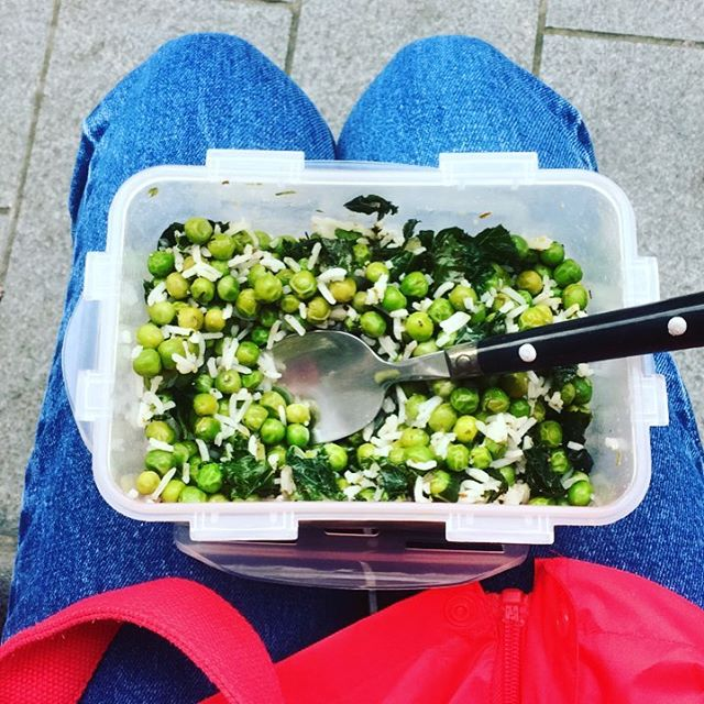 Eat your greens #EdFringe17 #AnActOfKindnees #Greens #EatClean #BeAQueen #Day19