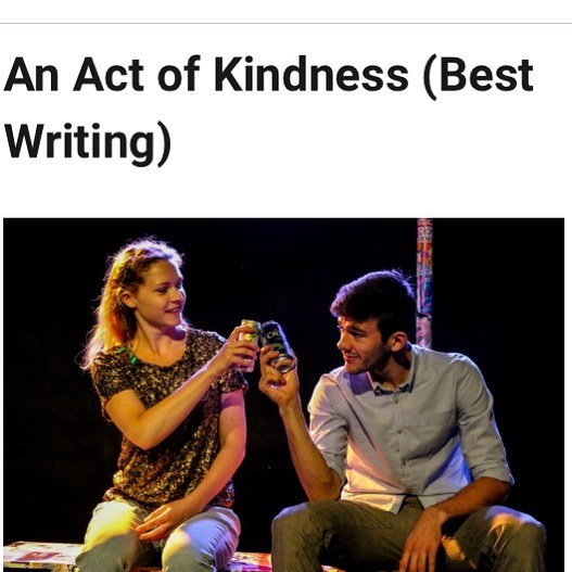 What a great way to finish #EdFringe17 - we were listed in @theatre_weekly 's Best of the Fest for Best Writing! With 25 performances, over 1,100 audience members and lots of lovely reviews we've had a total blast. Big thanks to @c_venues @edfringe @theatre503 and everyone who came along and supported. Now to home for all the sleeps 😴😴😴