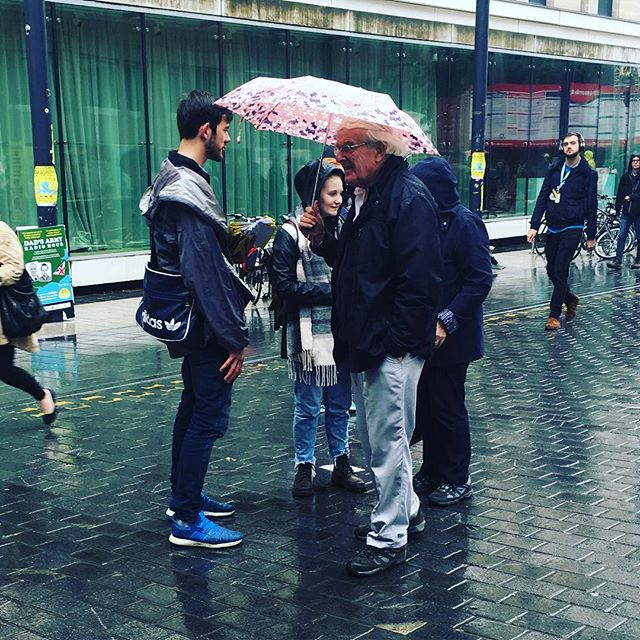 Come rain or shine, we Rascals will flyer #edfringe #edfringe17 #flyering #4showsleft