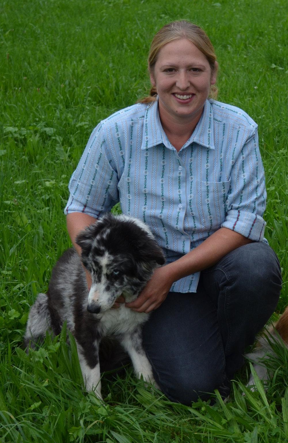Karin Lüönd, Landwirtin EFZ