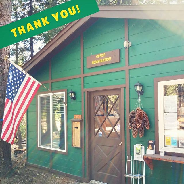 🌲🌲A big thank you to all of our campers for a wonderful Labor Day weekend! We hope you had as much fun as we did 🌲🌲IMPORTANT: If you, or anyone in your party lost an item in the park, please message us - we've found a few good things! . Also, bonus points to the camper that found the most grizzly bears this weekend 😂