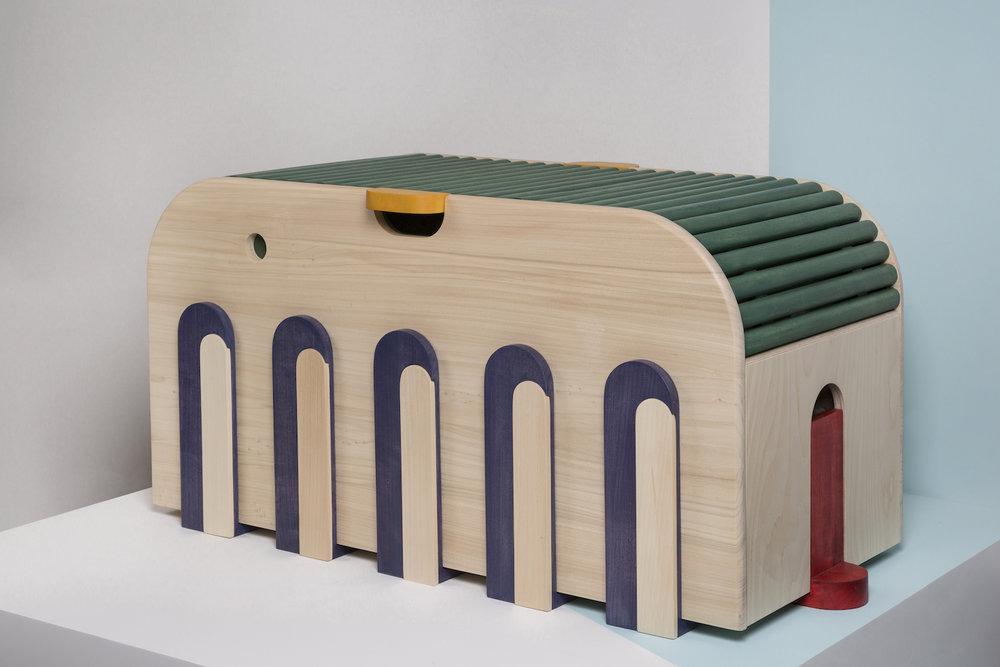 Charles Kalpakian, Sam the Toy Box.jpg