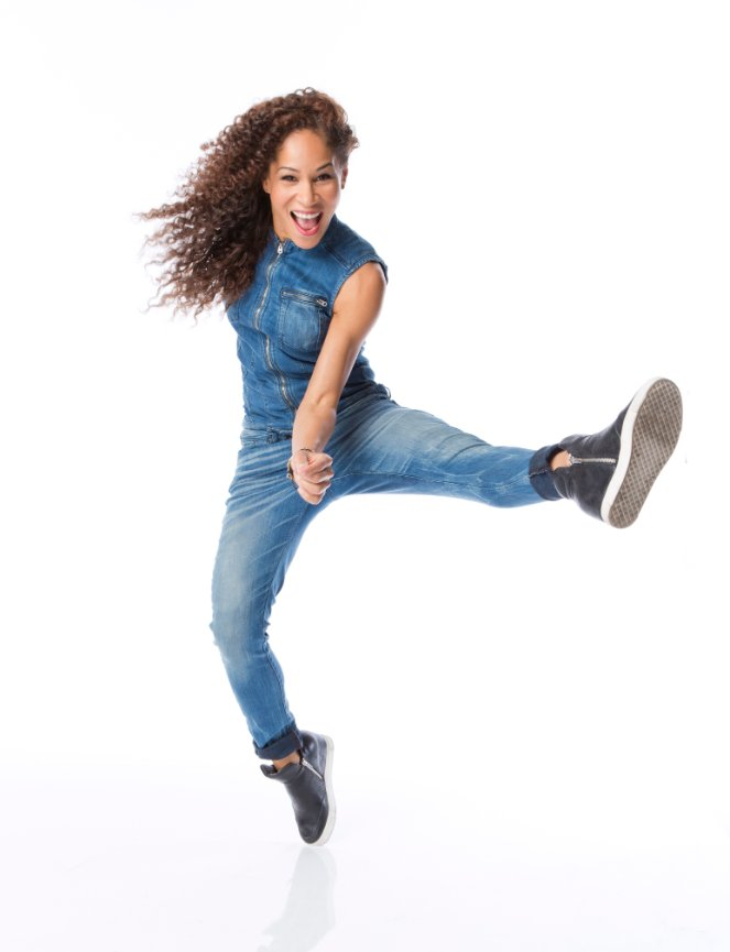 "Ayodele Casel - Ayodele Casel began her professional training at NYU Tisch School of the Arts and is a graduate of The William Esper Studio. Hailed by Gregory Hines as ""one of the top young tap dancers in the world,"" Ms. Casel has been commissioned by Harlem Stage, the Apollo Theater's Salon Series, and Lincoln Center. Ms. Casel co-choreographed and was featured in the PBS special The Rodgers & Hart Story. Other TV/Film: Third Watch, Law & Order, The Jamie Foxx Show, Bojangles, and Savion Glover's Nu York. She has performed with Gregory Hines, Jazz Tap Ensemble, American Tap Dance Orchestra, Savion Glover's company NYOTs, and in his work STePz. A Capezio Athlete, Ms. Casel has appeared on the cover of Dance Spirit, American Theatre, and The Village Voice. Recent performances include New York City Center's Fall For Dance Festival and the star-studded Broadway For Hillary fundraiser directed by Michael Mayer. Ayodele is on the faculty of A BroaderWay, and LA DanceMagic, and is a founding director of Original Tap House and Operation: Tap. www.ayodelecasel.com"