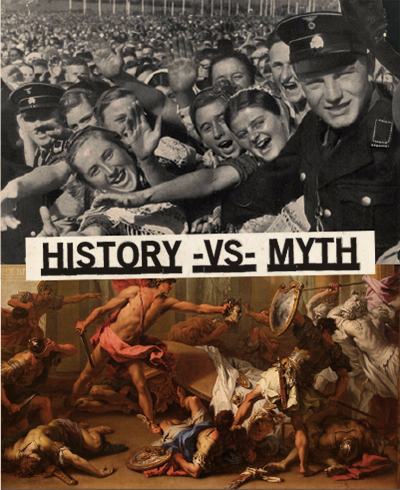 """""""Too often, a complex series of events that lead to major historical change are tidied up, and by virtue of being published in a history textbook, mythology becomes reality."""" READ MORE"""