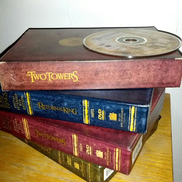 Where we bookmarked our last LotR extended editions & appendices marathon (earlier this week)