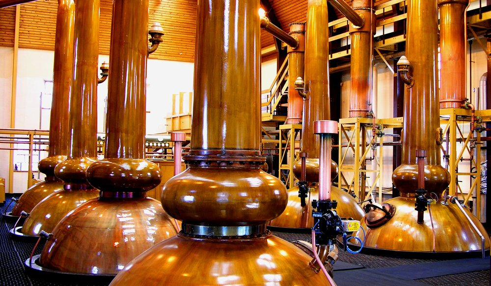 DISTILLERIES VISITED  - ON THE REVIVAL TOUR