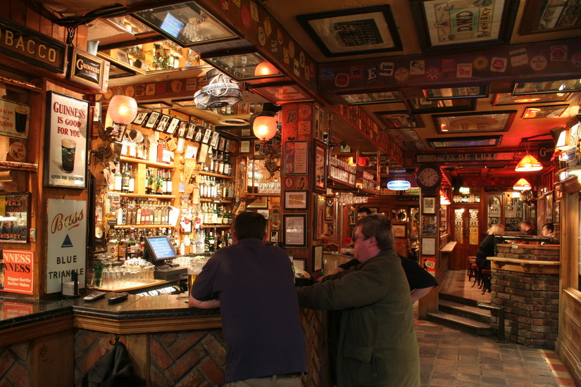 Inside the award winning Duke of York whiskey bar