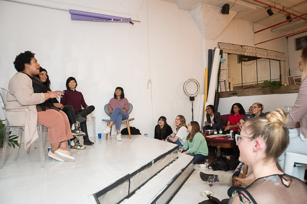 Hosting a panel on identity with multidisciplinary artists