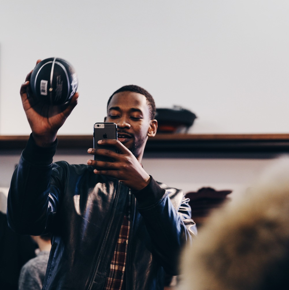 Frank And Oak In-store Activation with professional basketball player Terrence Ross