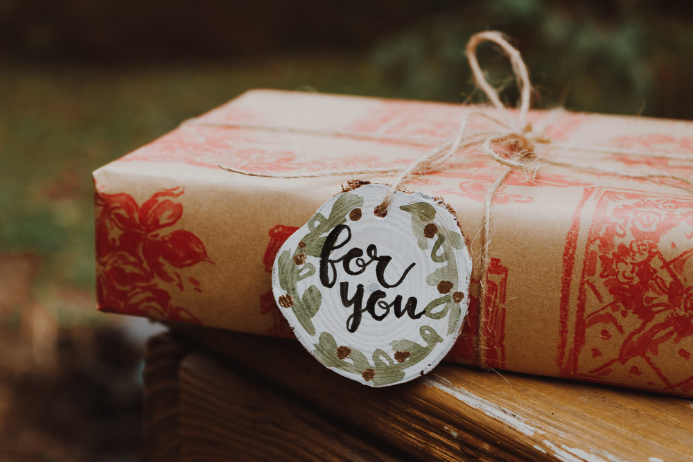 Perfect for gift tags - Ornament or gift tag? Up to you!