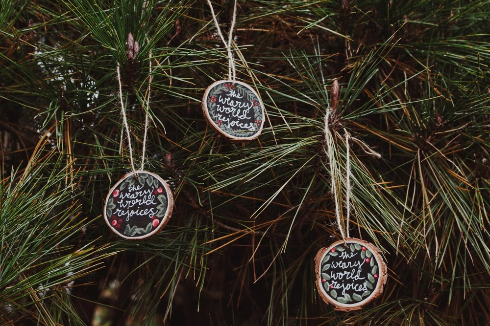 Sets of 3 - Ornaments are $4 each or 3 for $10.