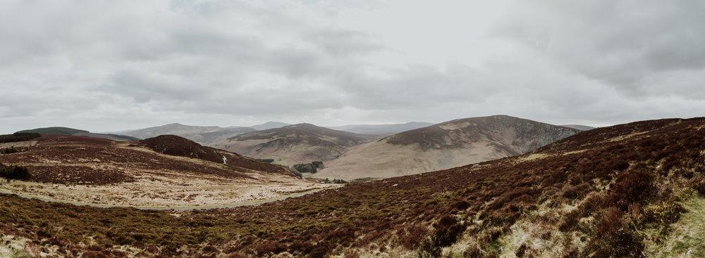 Wicklow Mountains near Sally Gap