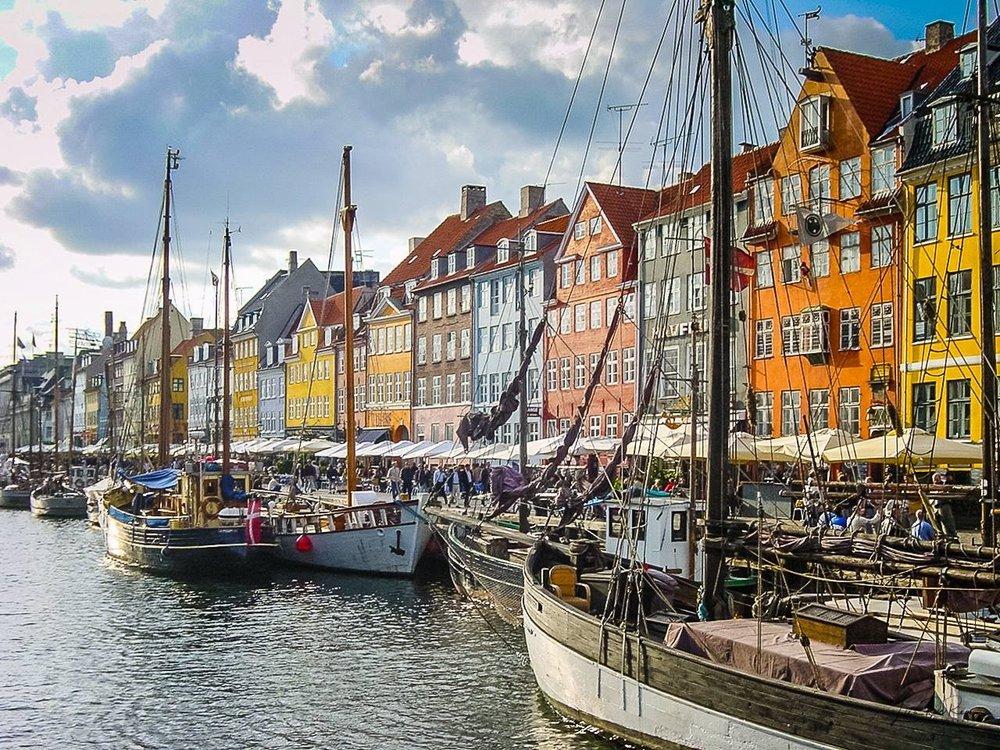 Nyhavn, Denmark, Lisa DeRea Photography