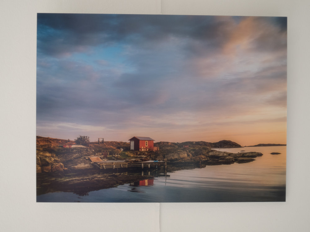 Style Idea - Original Photo Print Under Matte Acrylic (for a clean modern look)Printed on Fuji Crystal DP II Glossy Paper40.5 x 30.5 cm (16