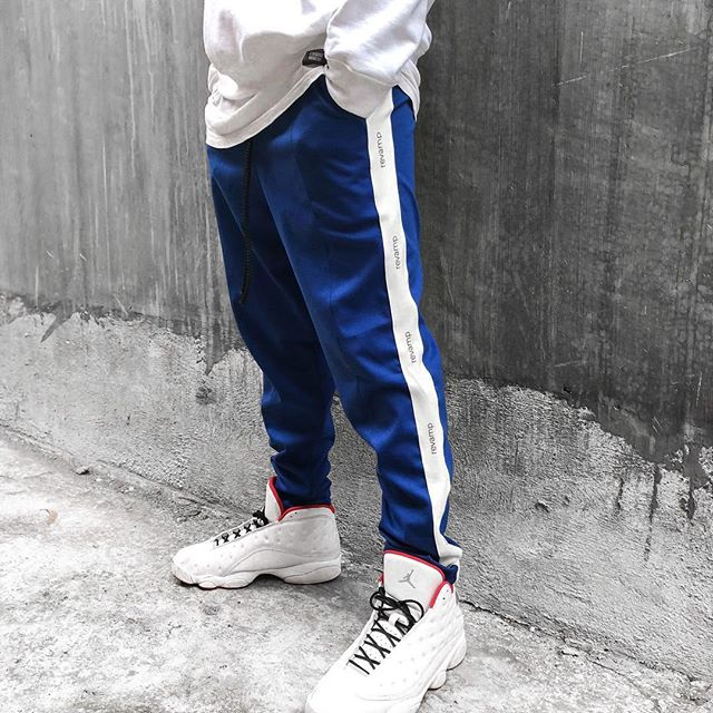 REVAMP ROYAL BLUE TRACKSUIT BOTTOMS || RVMP.COM.AU