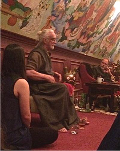 Y eshe Tonpa (H.H. Seonaidh Perks) teaching in Ann Arbor, Michigan -2016