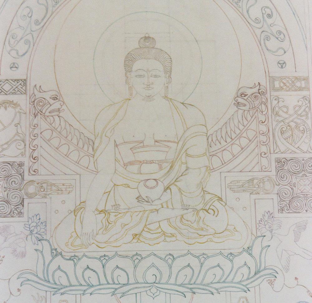 Celtic Buddha