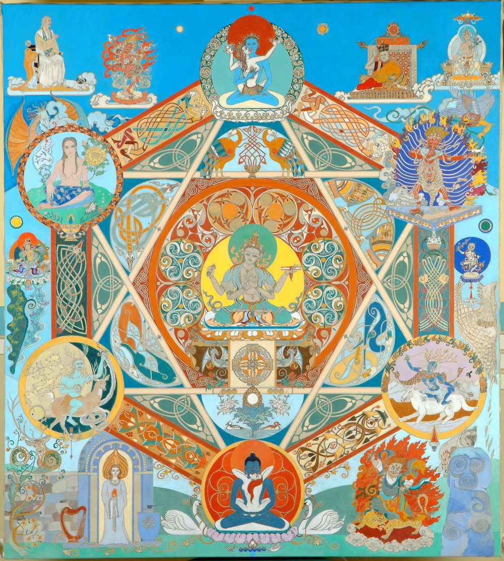 Celtic Buddhist Mandala 2005