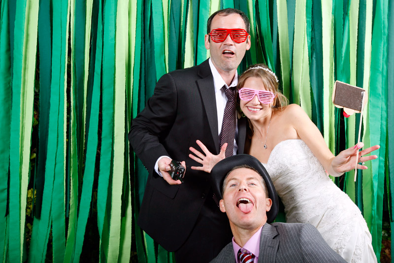 wedding photo booth in capitola, california