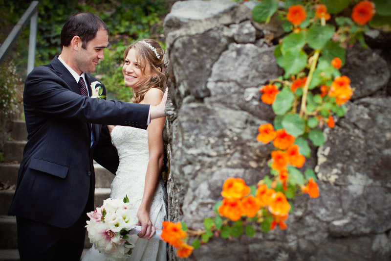 wedding at monarch cove inn in capitola, california