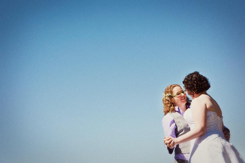 same sex wedding in oakland, california