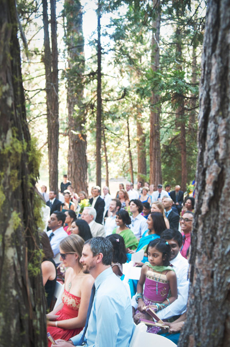 Beautiful Indian wedding in Yosemite National Park during summer 2011, photography by Alison Yin and Adm Golub