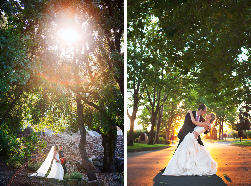 amazing sunset light at vintners inn in santa rosa and napa valley country club in napa, bay area, california, alison yin phtoography