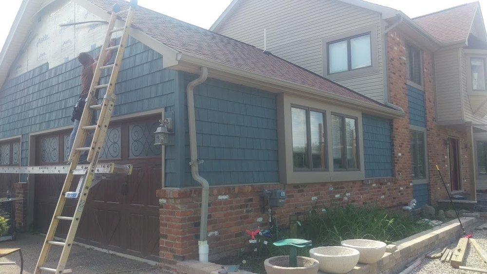 New Siding Installation