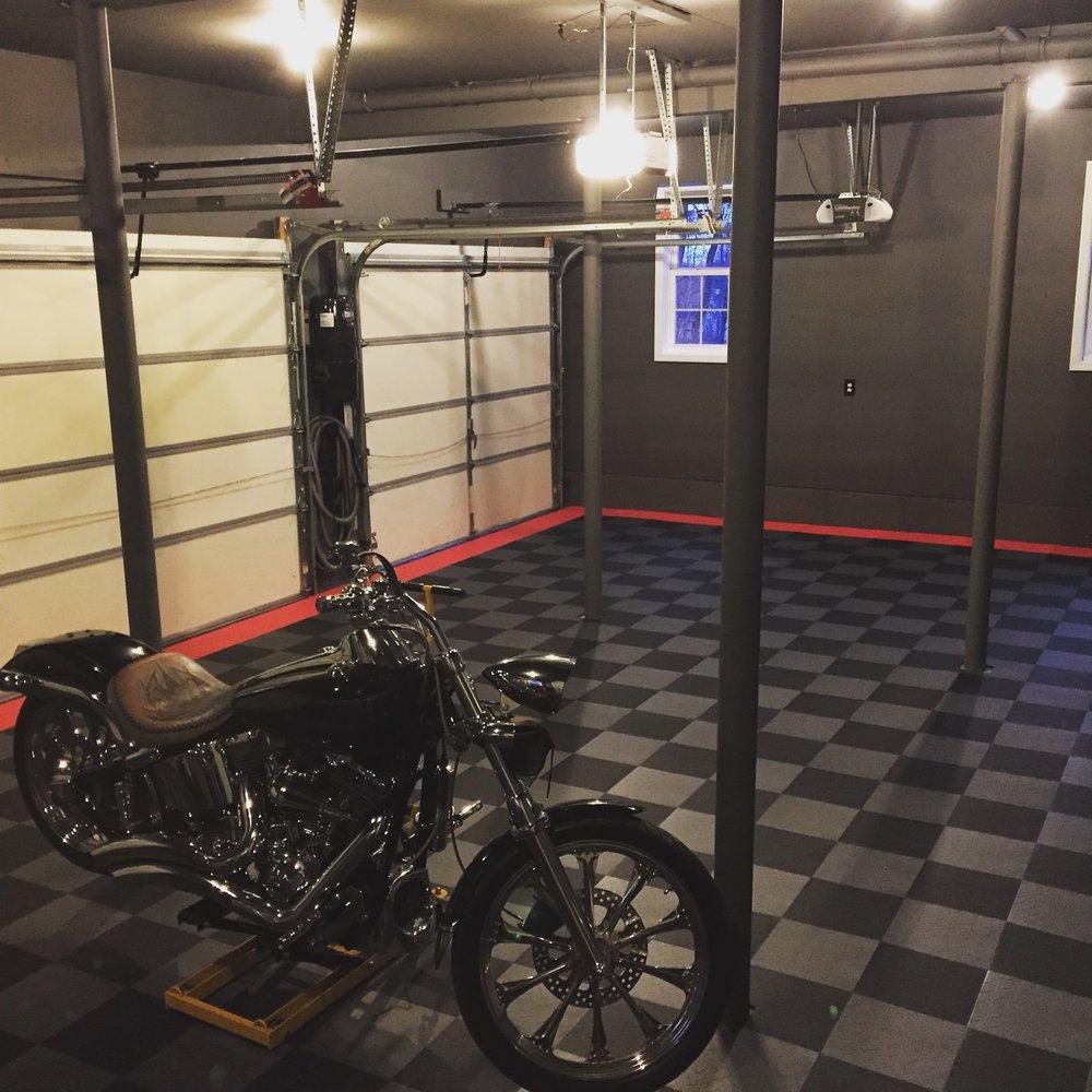 DIY Garage Flooring