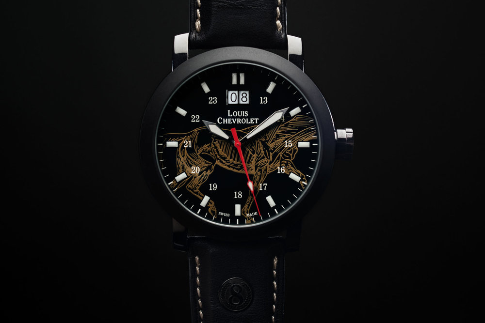 Limited edition art watch with Horsepower.