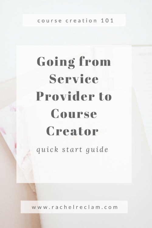 Going from Service to Course