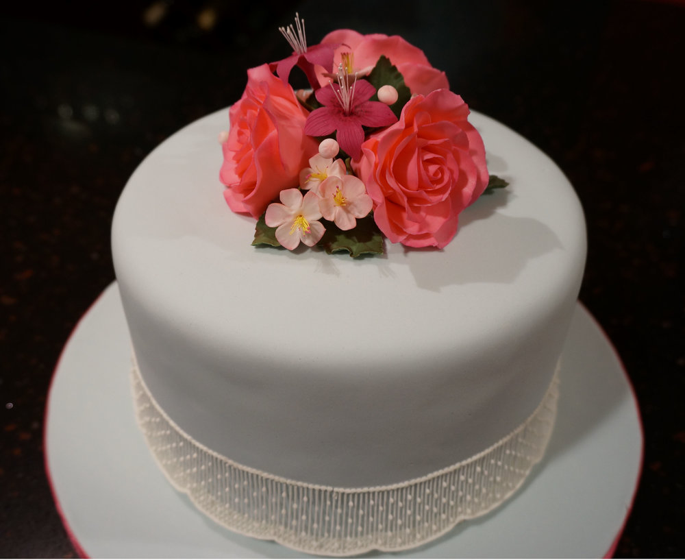 Ushering in summer with sugar flowers