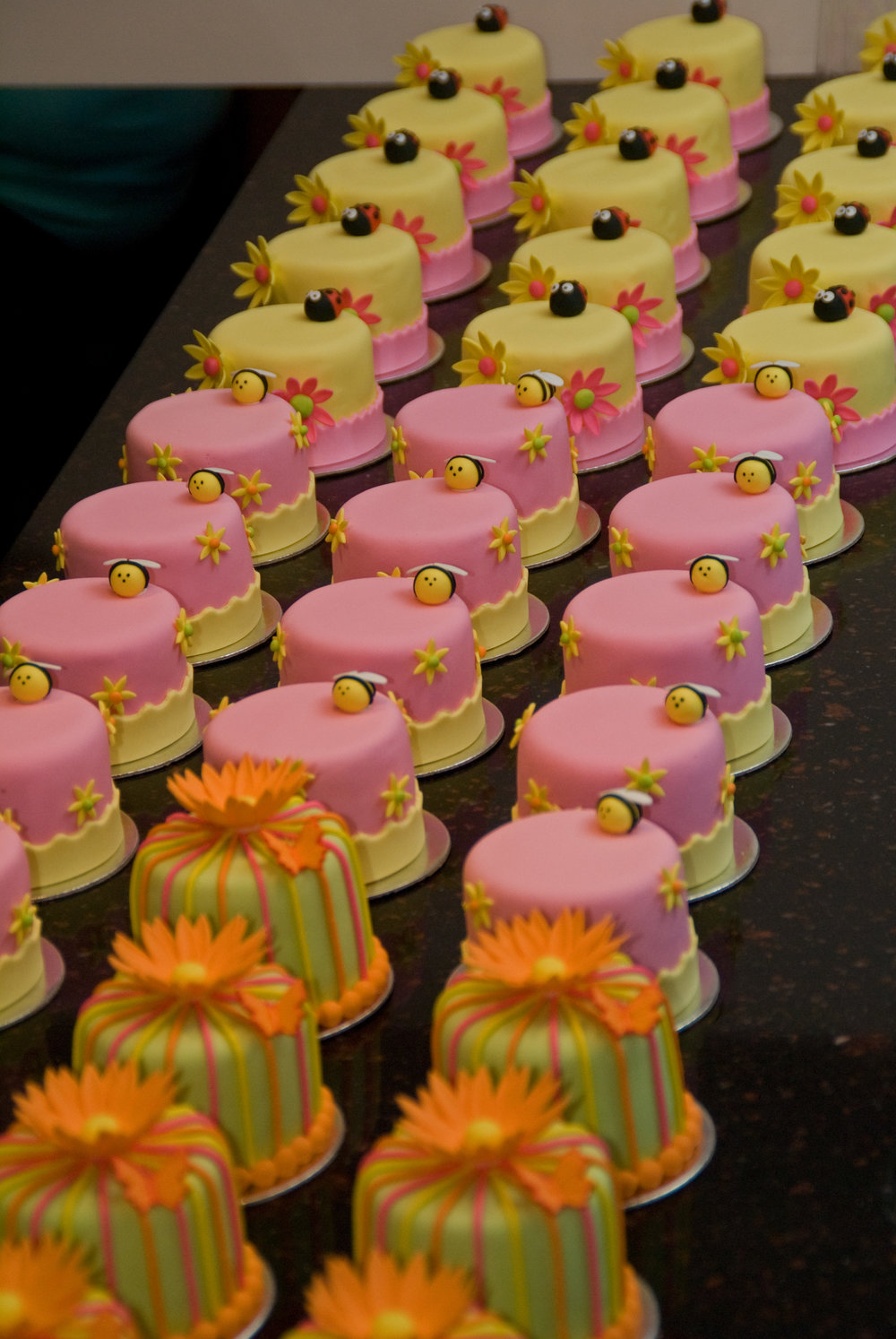 Whimsical florals Favor-ite SophistiCakes