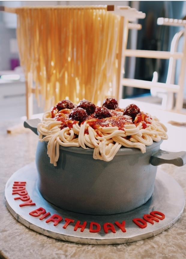 A birthday cake for Nonno