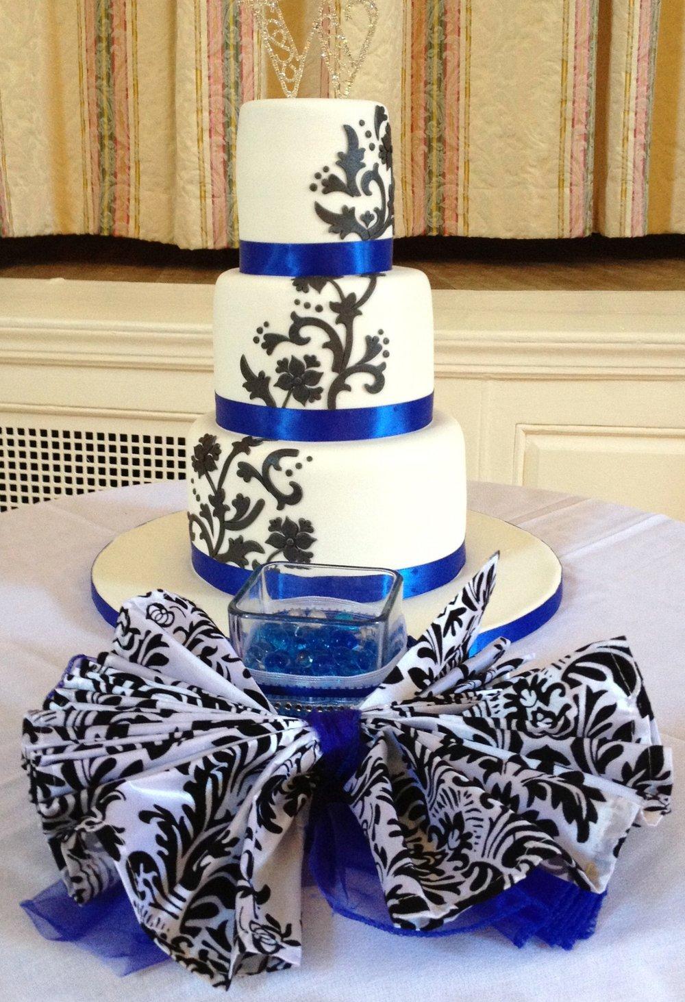 A damask wedding